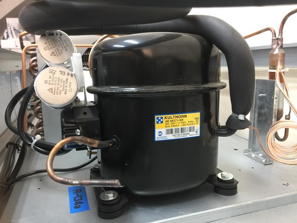 Lốc máy chính hãng siêu bền , hiệu quả cao với hệ thống lạnh bằng ống đồng